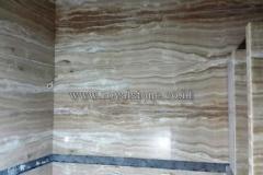 ONYX GIORGIO GOLD, FIXED AS BATHROOM WALL