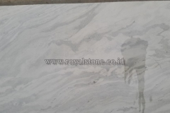 Marble Bianco Oceanic brush